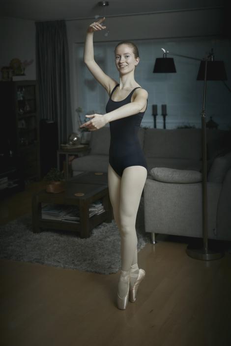 Portretfotografie ballerina